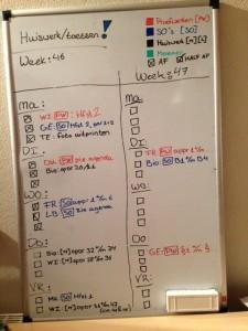 Tweeweekse planning
